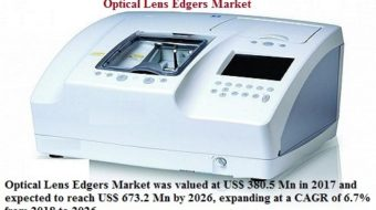 Optical Lens Edgers Market Analysis Is Expected To Reach US$ 673.2 Mn By 2026: Credence Research